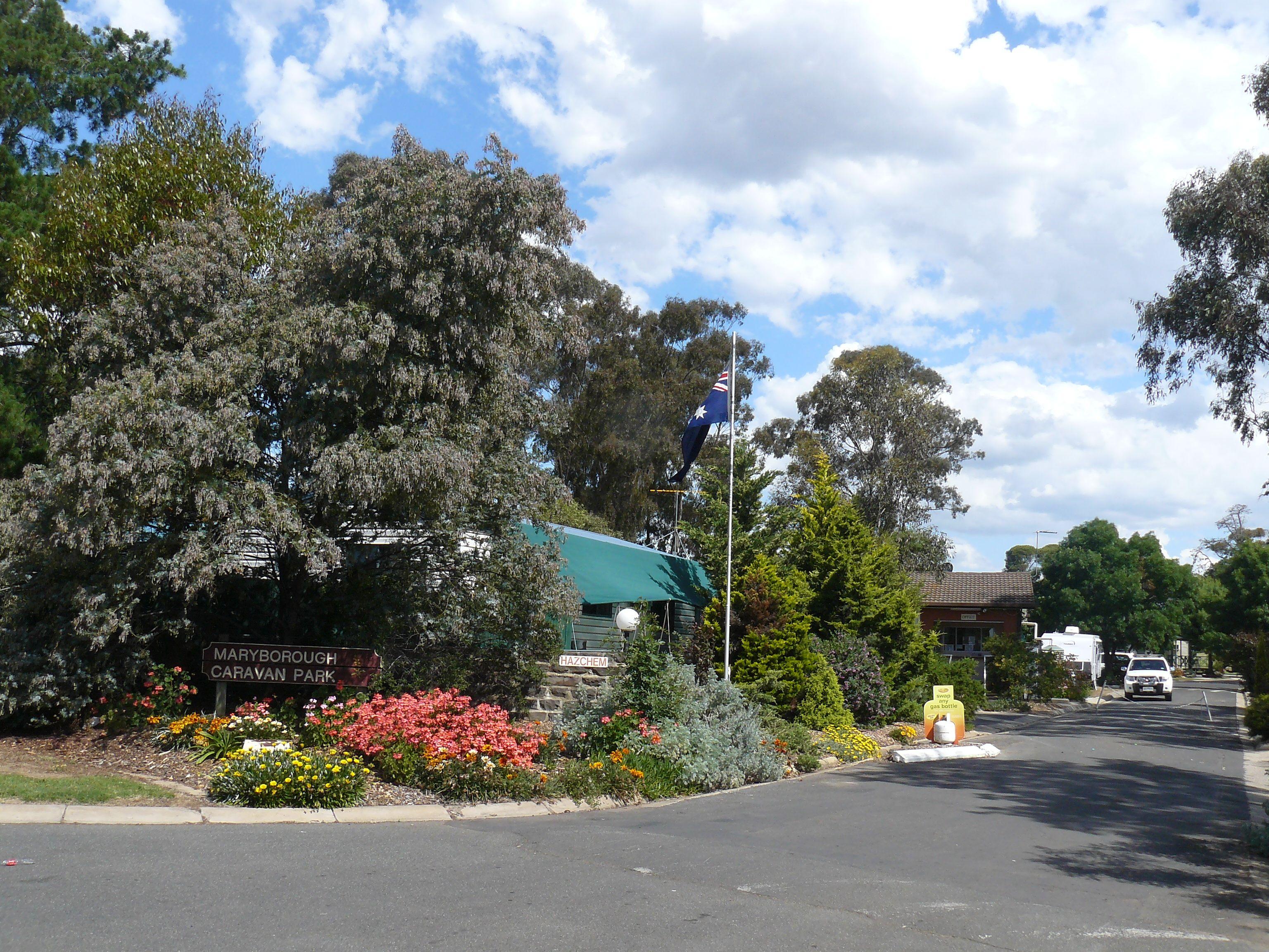 Maryborough in Victoria