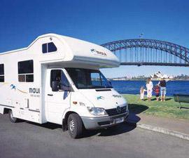 Maui Spirit Motorhome in Sydney