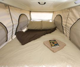 KEA 4 Wheel Drive Rental Bedding