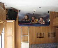 Brtiz Renegade Motorhome Bedding Accommodation