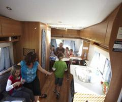 Britz Renegade Motorhome Accommodation
