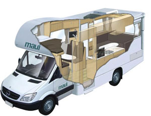 Maui Platinum River Campervan