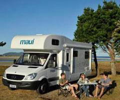 Maui Platinum River Campervan Exterior shot