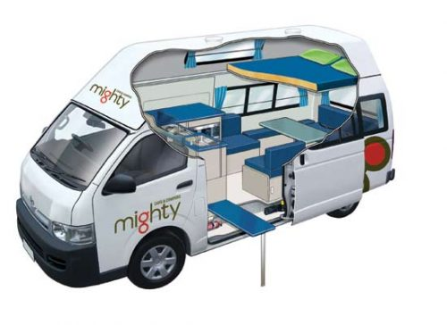 Mighty Double Down Campervan
