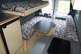 3 Berth Cruiser Bed view