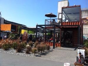 cashel street container mall christchurch nz
