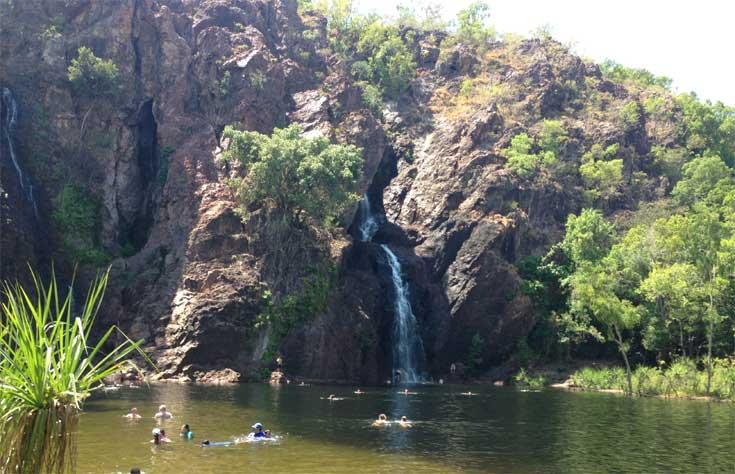 Wangi Falls Litchfield Park NT