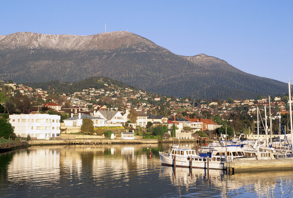 Mt Wellington and Sandy Bay