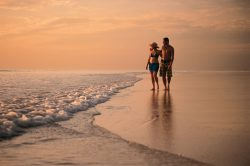 Sunset stroll on Cable Beach, Broome