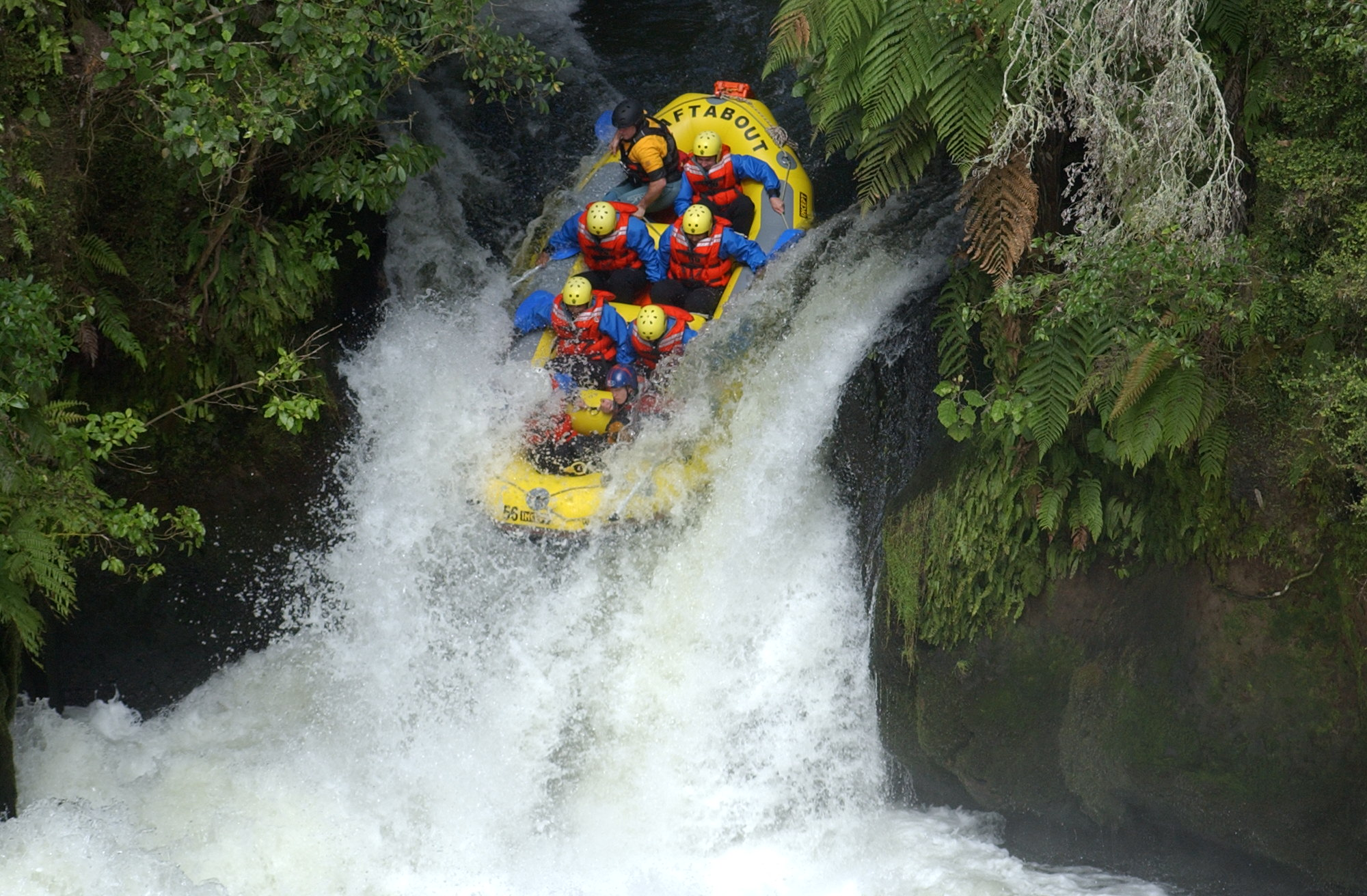 auckland rafting