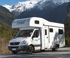 A campervan holiday can be a great way to explore New Zealand.