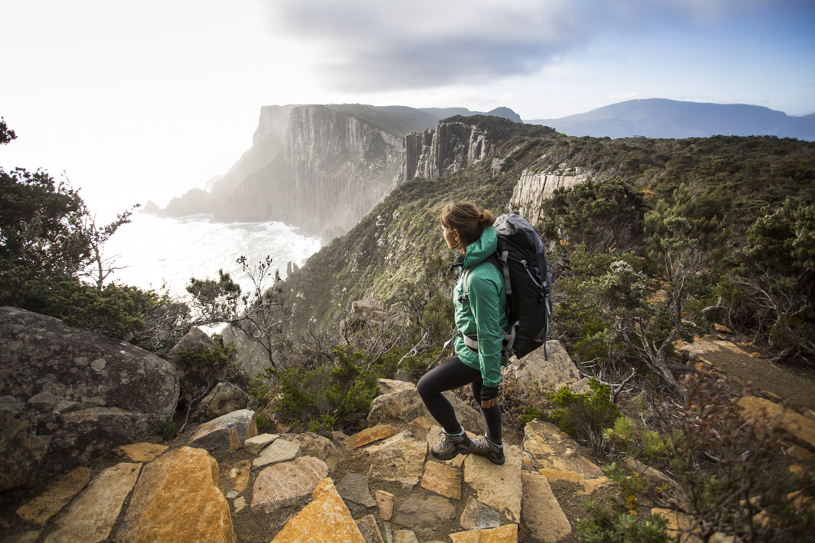 Mountain Hiking in Tasmania