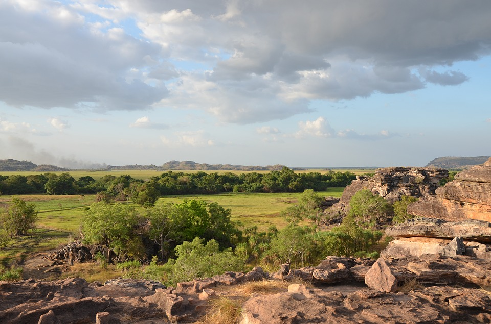 Nadab Lookout from Arnhem Land Kakadu