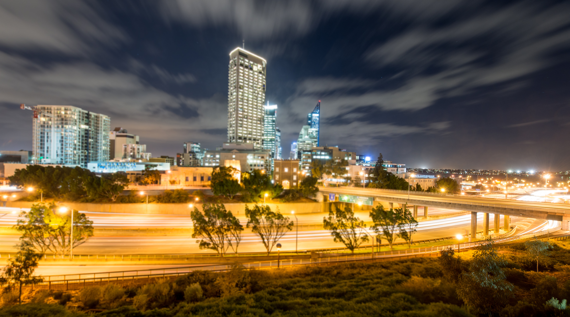 Perth Australia Night View