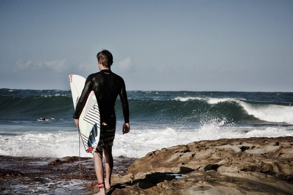 surfer in WA
