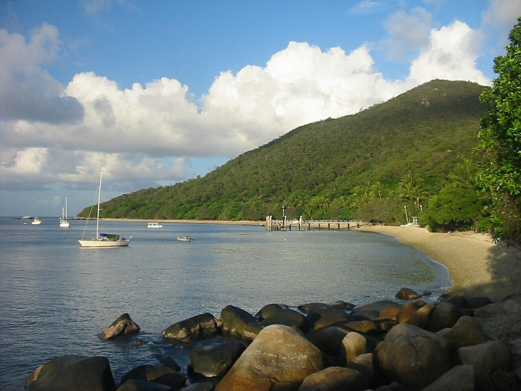 Welcome Bay on Fitzroy Island