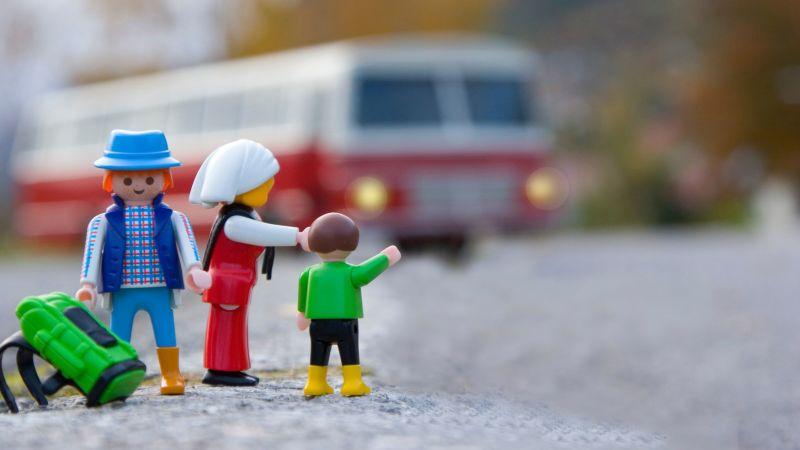 Packing kids campervan