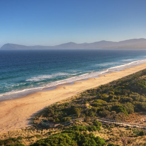 The Neck Bruny Island Towards Adventure Bay