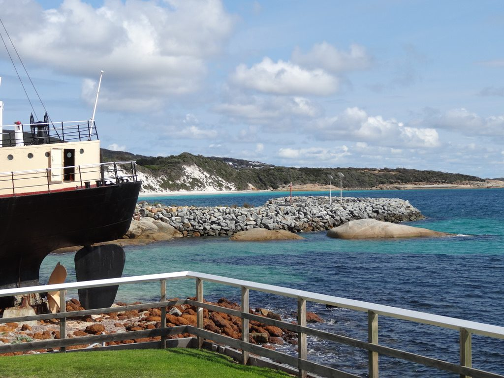 Ship at Albany Western Australia