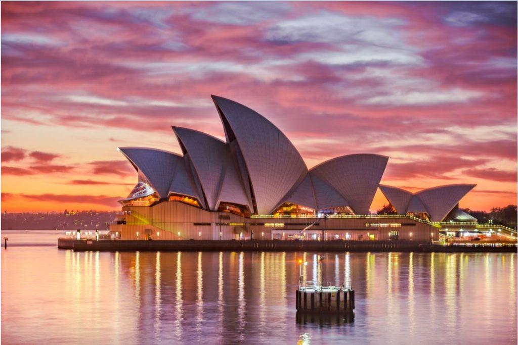 Sydney Opera House Prince Harry and Meghan