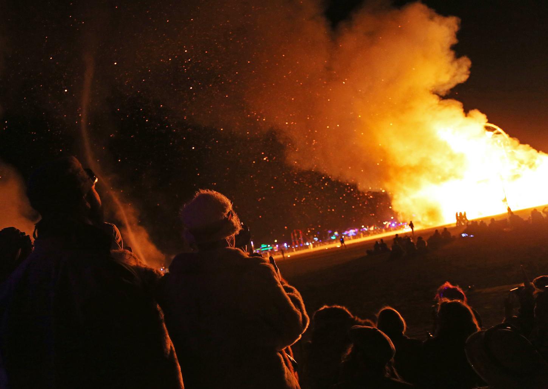 Burning Man Nevada