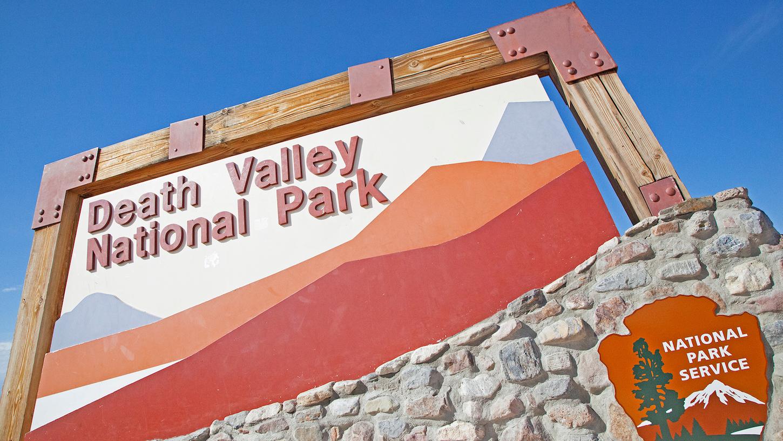 Death Valley Nevada motorhome