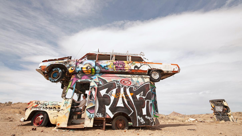 Rocket Bob Car Art in Nevada