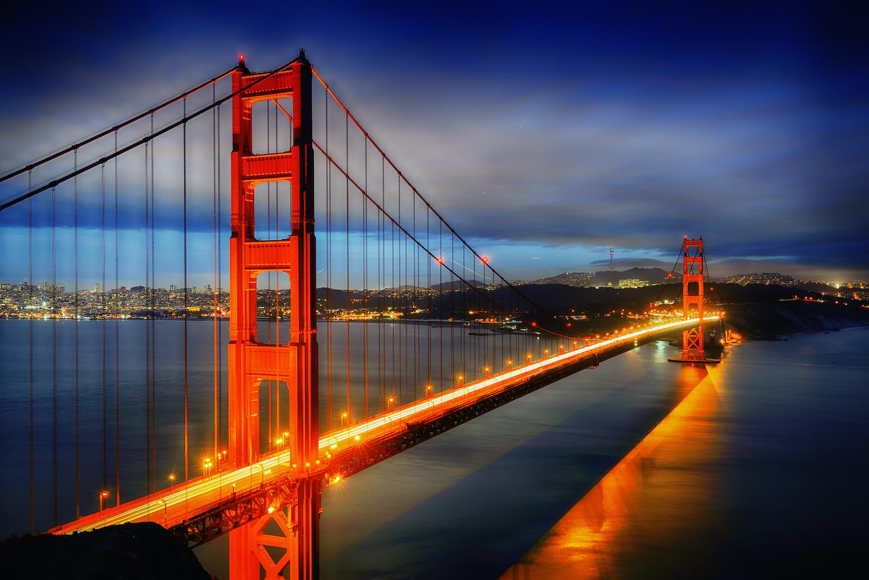 Golden Gate Bridge DriveNow
