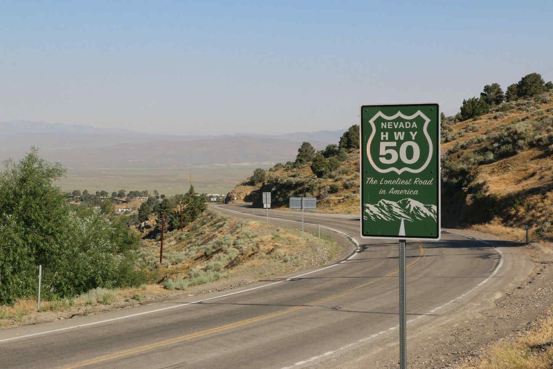 America's Loneliest Road - Highway 50 Nevada