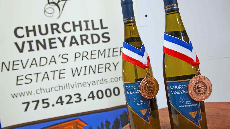 Churchill Vineyards Nevada