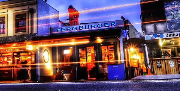 Fergburger in Queenstown, New Zealand
