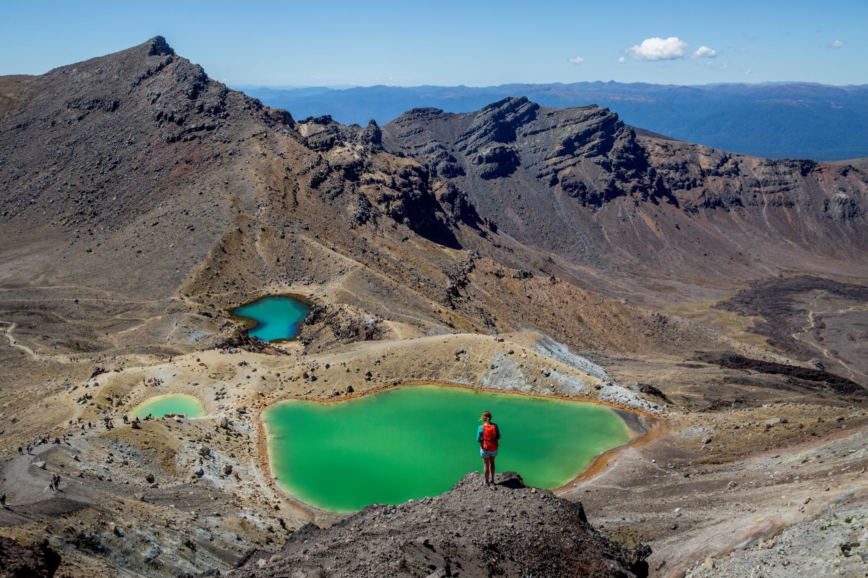 NZ – The 3 Best Day Hikes – North Island