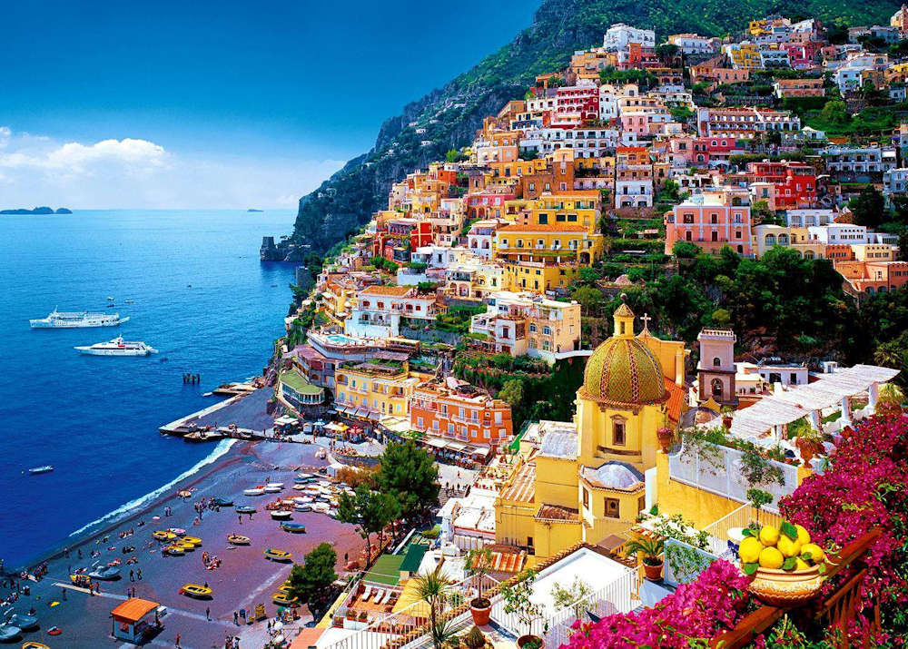 The Italian Amalfi Coast