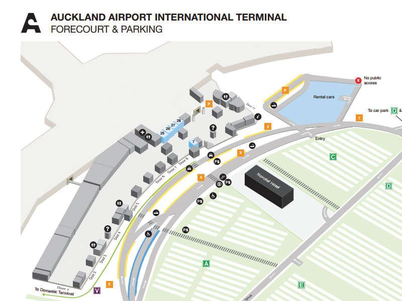 Thrifty Car Rental New Zealand Auckland International Airport
