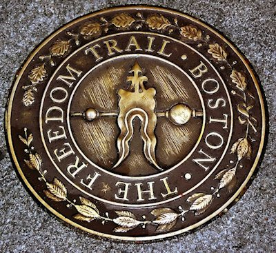 Historic Freedom Trail in Boston