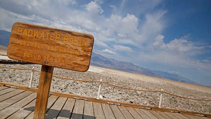 Badwater Basin in Nevada