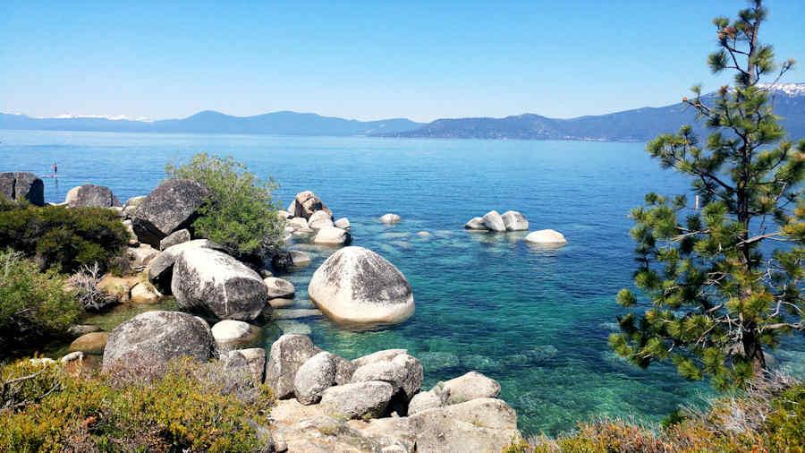 Foreshore of  Lake Tahoe, Nevada