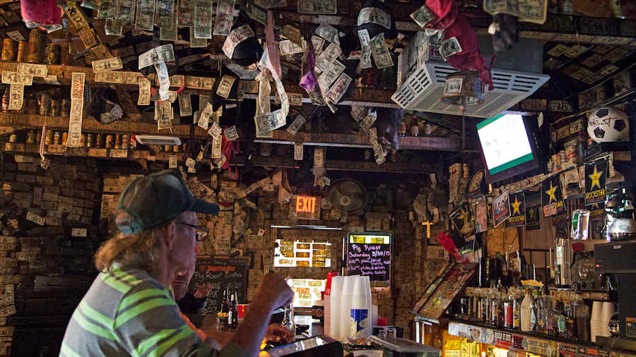 Mountain Springs Saloon in Nevada
