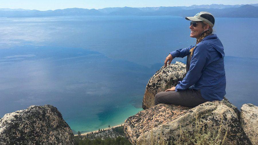 Panoramic view of Lake Tahoe, Nevada