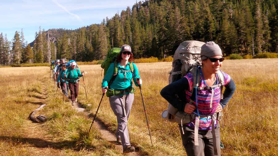 Hiking the Tahoe Rim Trail in Nevada