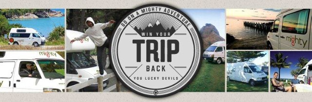 Go on a Mighty Adventure - Mighty Campervan Competition