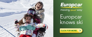 Car hire for the Snow with Europcar