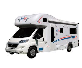 Around Australia Motorhomes - 6 Berth Campervan Hire