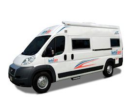 Around Australia Motorhomes - 3 Berth Campervan Hire