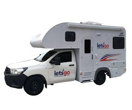 Around Australia Motorhomes - 2 Berth Campervan Hire
