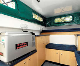 Cheapa Campa 4WD Camper Living Features