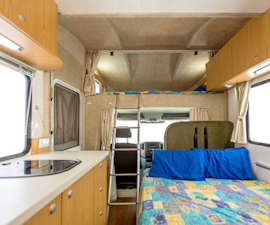 Euro Deluxe interior from Apollo Motorhomes