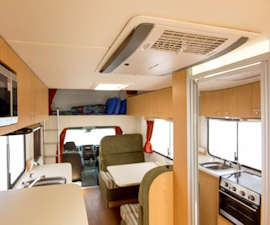 Relax and unwind in the Euro Star motorhome
