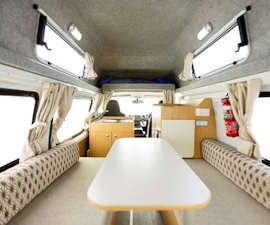 Apollo Hitop Campervan Living Features
