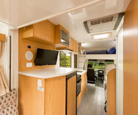 Pandora RV interior from Star RV Campervan Hire